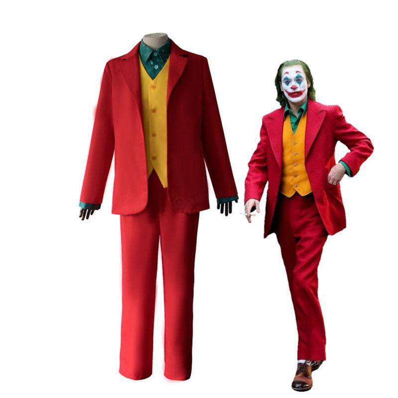 2019 Movie Joker Halloween Male Suit Cosplay Costumes - Cosplay Clans