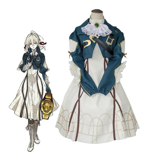Anime Violet Evergarden Violet Evergarden Cosplay Costumes - Cosplay Clans