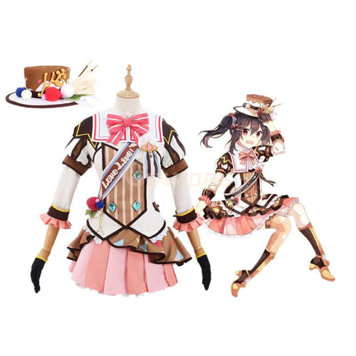 Anime LoveLive! Yazawa Nico and μ's All Members Ice Cream Uniform Cosplay Costume - Cosplay Clans