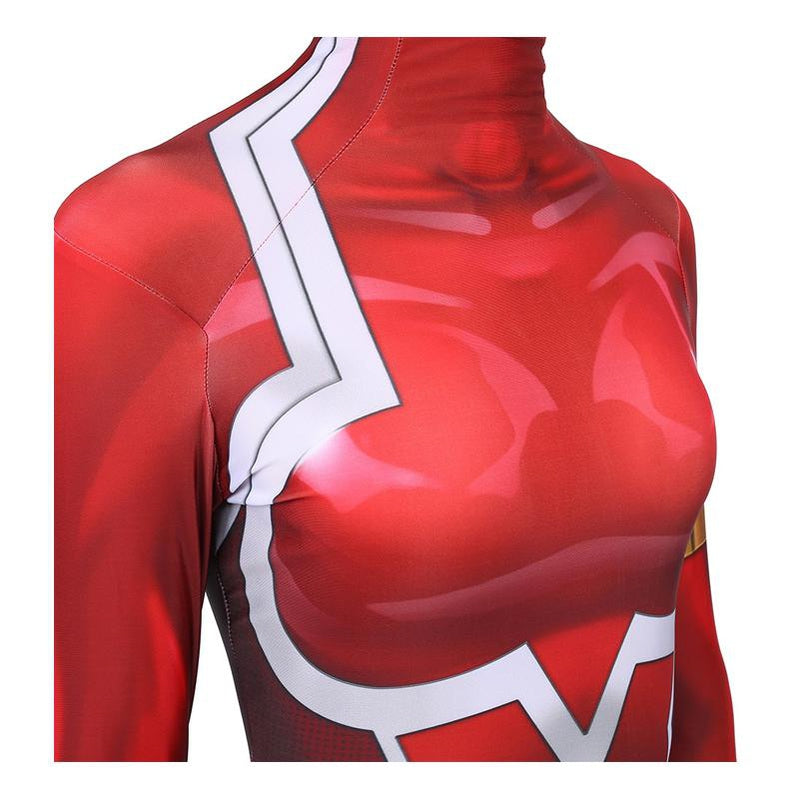 Anime DARLING in the FRANXX 02 Zero Two Jumpsuit Cosplay Costumes - Cosplay Clans