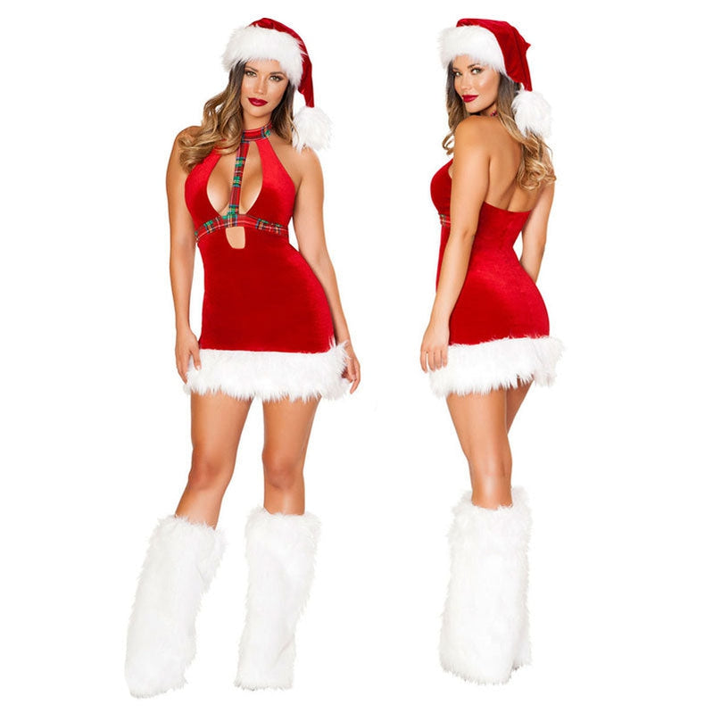 Christmas Girl Cosplay Dress Bar Performance Costume Sexy Suit Skirt Cosplay Costumes - Cosplay Clans