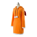 Anime No Game No Life Shuvi Doura Orange Dress Cosplay Costume - Cosplay Clans