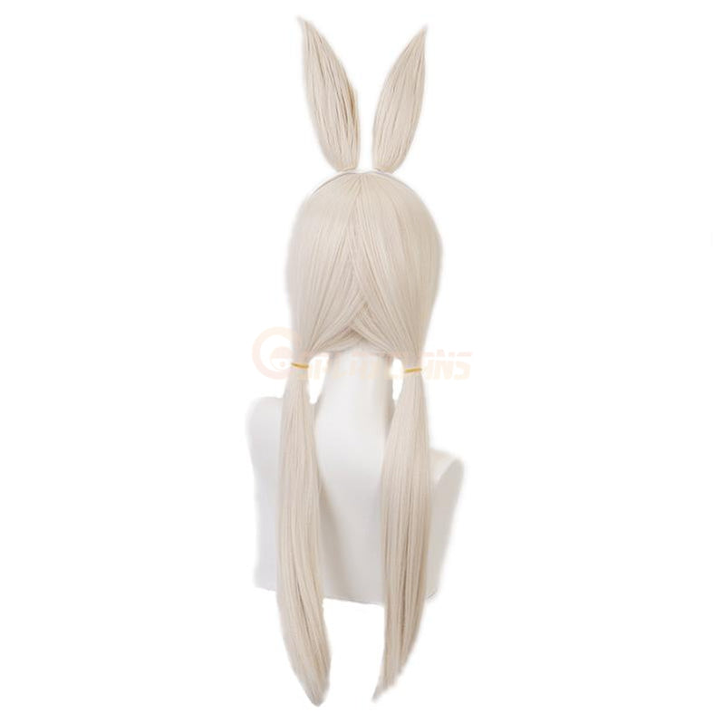 Anime Beastars Haru Short Long Silver Cosplay Wigs - Cosplay Clans