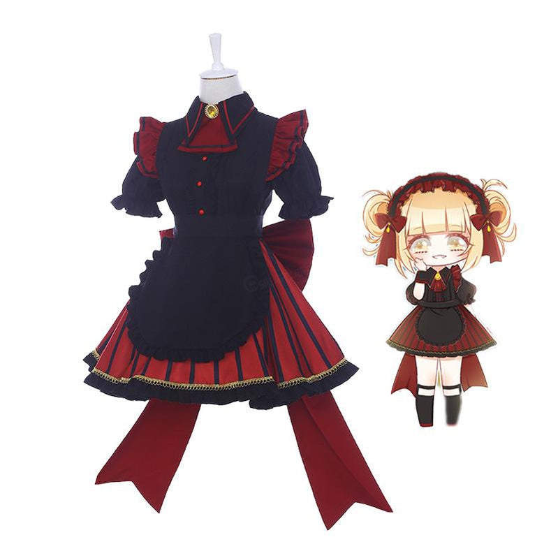 Anime My Hero Academia Himiko Toga Maid Clothes Cosplay Costumes - Cosplay Clans