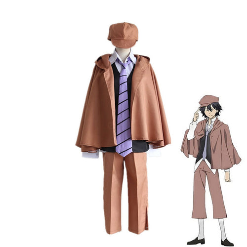 Anime Bungo Stray Dogs Edogawa Ranpo Cosplay Halloween Costume - Cosplay Clans