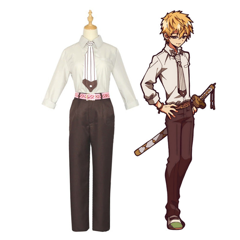 Anime TBHK Toilet-bound Hanako-kun Minamoto Teru Outfit Cosplay Costumes - Cosplay Clans
