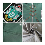 Movie Harry Potter Hogwarts Slytherin Quidditch Team Cloak Cosplay Costume - Cosplay Clans