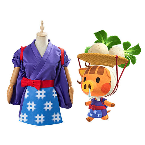 Game AC Animal Crossing: New Horizons Daisy Mae Cosplay Costumes - Cosplay Clans