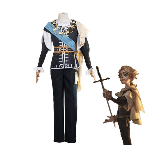 Game Identity V Embalmer Hamlet Aesop Carl Cosplay Costume - Cosplay Clans