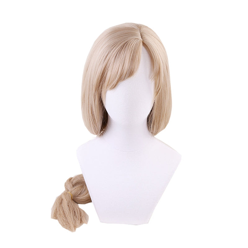 Anime Cells at Work Macrophages Long Linen Braided Cosplay Wigs - Cosplay Clans