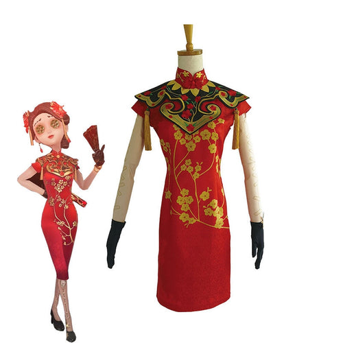 Game Identity V Coordinator Dance in the Snow Matha Behamfil Cosplay Costume - Cosplay Clans