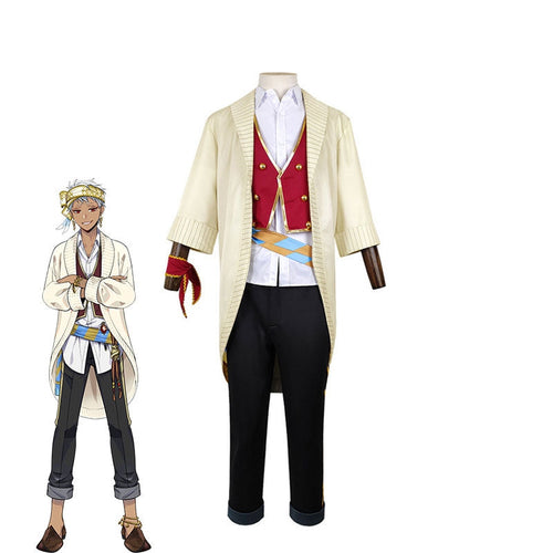 Game Twisted-Wonderland Scarabia Kalim Al-Asim Cosplay Costume - Cosplay Clans