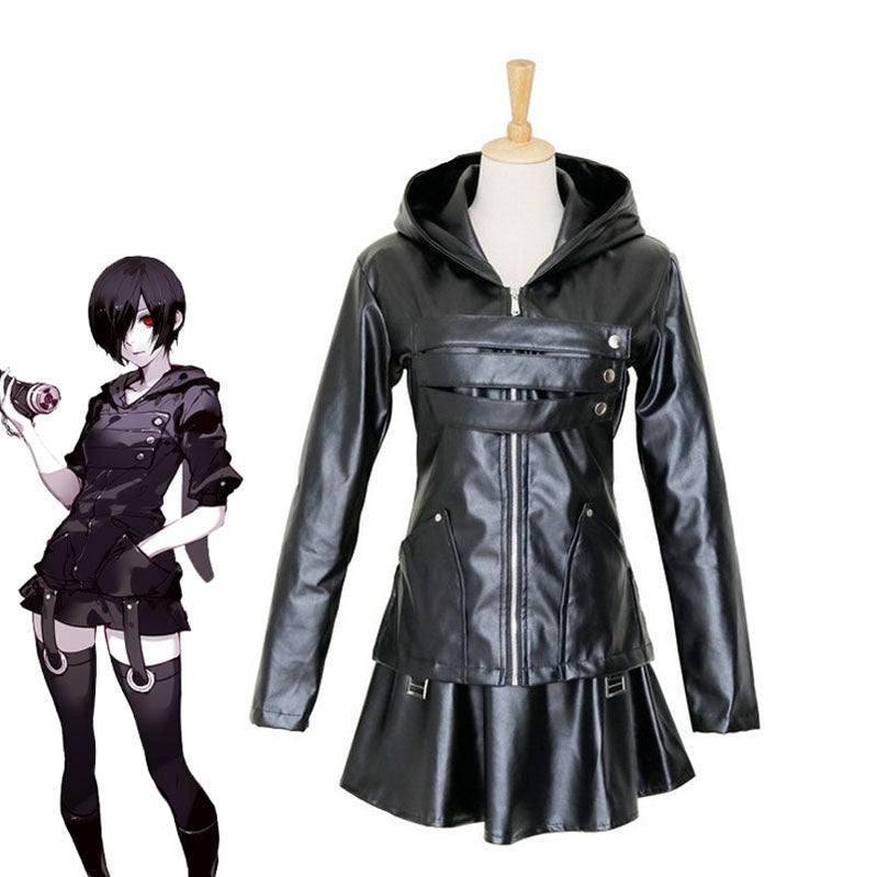 Anime Tokyo Ghoul Touka Kirishima Combat suit Cosplay Costume - Cosplay Clans