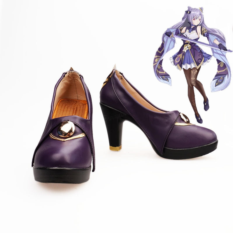 Genshin Impact Venti Gradient Cosplay Shoes - Cosplay Clans