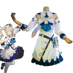 Game Genshin Impact Barbara Full set Cosplay Costumes - Cosplay Clans