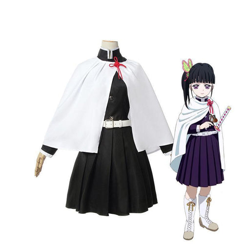 Anime Demon Slayer Kimetsu no Yaiba Tsuyuri Kanawo Female Uniform Cosplay Costumes - Cosplay Clans