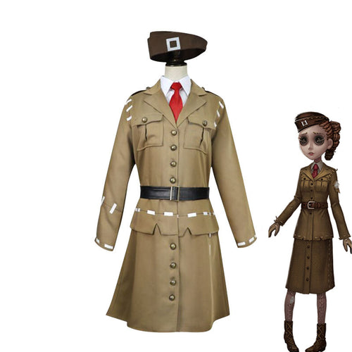 Game Identity V Coordinator Matha Behamfil Cosplay Costume - Cosplay Clans