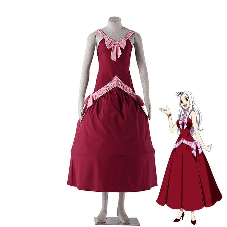 Anime Fairy Tail Mirajane Strauss Cosplay Costume - Cosplay Clans