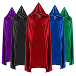 New Halloween Cloak Reaper Sorcerer Witch Long Multicolor Cosplay Cloak - Cosplay Clans