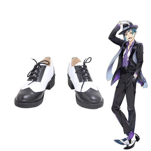 Game Twisted-Wonderland Floyd Leech Cosplay Shoes - Cosplay Clans