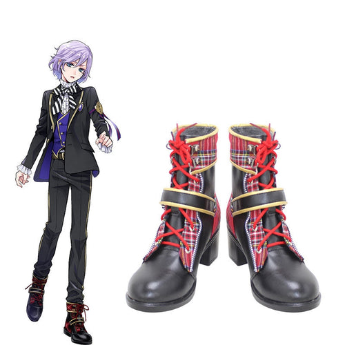 Game Twisted-Wonderland Epel Felmier Cosplay Shoes - Cosplay Clans