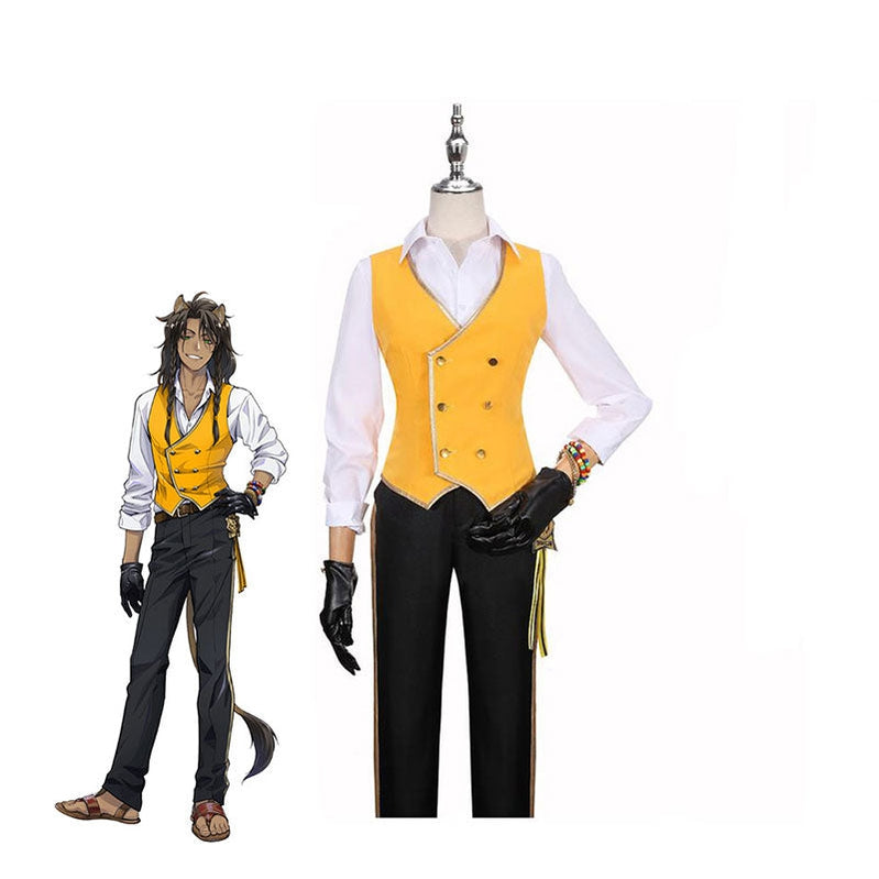 Game Twisted-Wonderland Leona Kingscholar Uniforms Cosplay Costume - Cosplay Clans