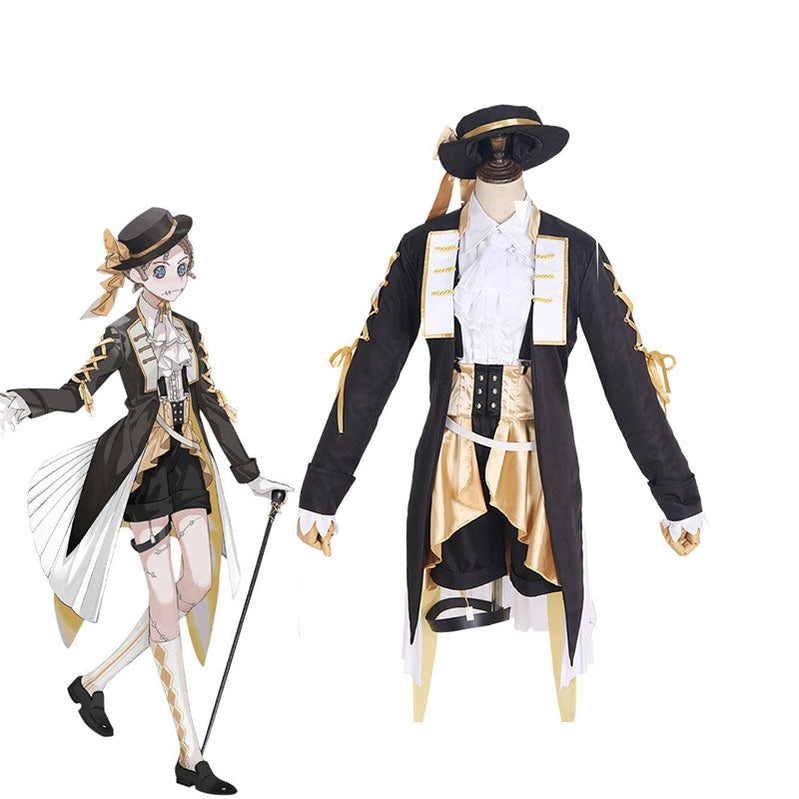 Game Identity V Mercenary Tea Party Fancy Naib Subedar Cosplay Costume - Cosplay Clans