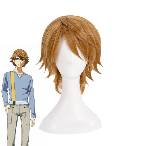 Anime Tokyo Ghoul Nishio Nishiki Short Golden Cosplay Wigs - Cosplay Clans