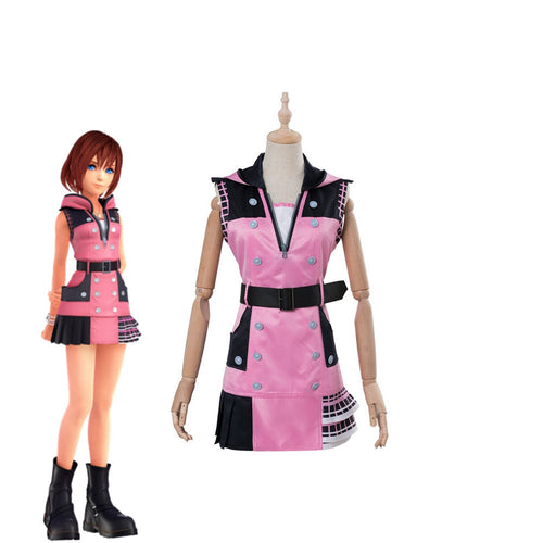 Game Kingdom Hearts Kairi Cosplay Costume - Cosplay Clans