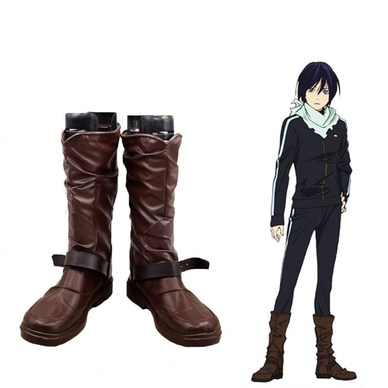 Anime Noragami Aragoto Yato Cosplay Shoes - Cosplay Clans