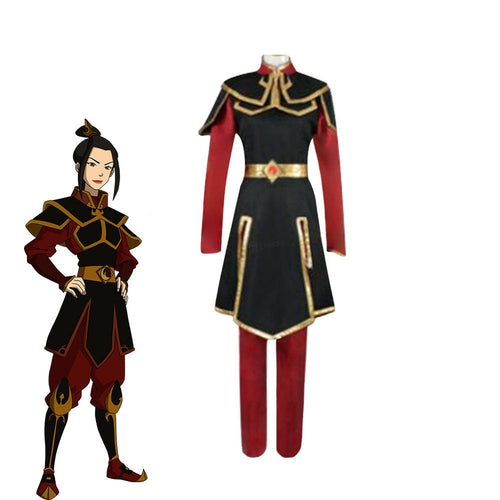 Anime Avatar: The Last Airbender Azula Outfit Cosplay Costume - Cosplay Clans