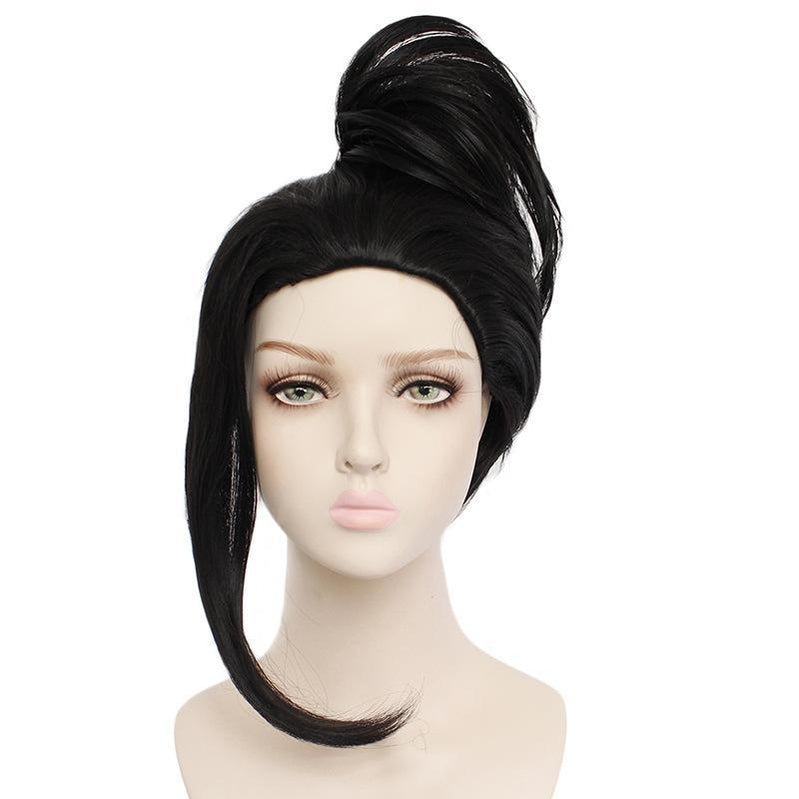 Anime My Hero Academia Momo Yaoyorozu Long Black Cosplay Wigs - Cosplay Clans