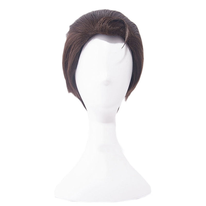 Game Detroit: Become Human Connor Short Brown Cosplay Wigs - Cosplay Clans