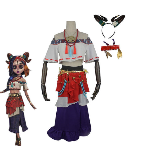 Game Identity V Sacrifice Fiona Gilman Cosplay Costume - Cosplay Clans