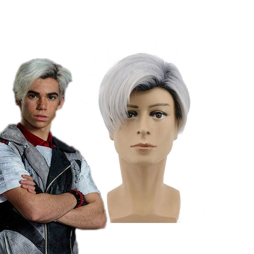 Movie Descendants 2 Carlos Blue Cosplay Wigs - Cosplay Clans