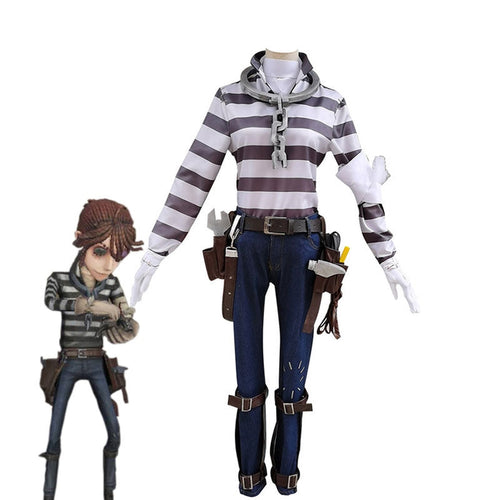 Game Identity V Prisoner Luca Balsa Cosplay Costume - Cosplay Clans