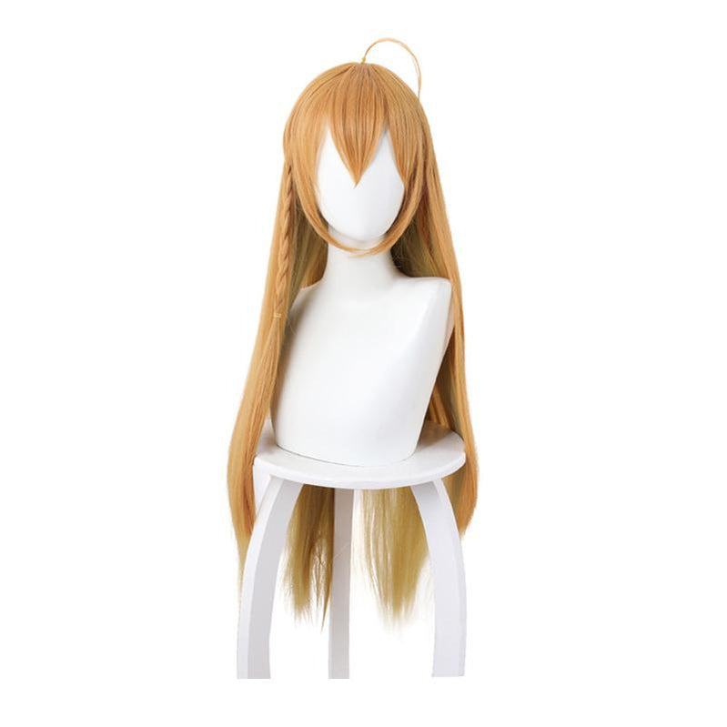 Princess Connect! Re:Dive Eustiana Von Astrea Yellow Gradient 90cm Long Straight Cosplay Wigs - Cosplay Clans