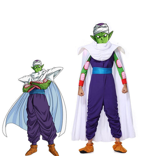 Anime Dragon Ball Piccolo Cosplay Costume - Cosplay Clans