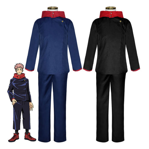 Jujutsu Kaisen Yuji Itadori Child Cosplay Costume