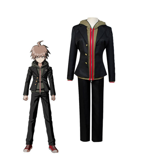 Danganronpa 3: The End of Hope's Peak High School Makoto Naegi Full Set Cosplay Costumes - Cosplay Clans