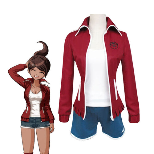Anime Danganronpa: Trigger Happy Havoc Aoi Asahina Uniform Cosplay Costumes - Cosplay Clans