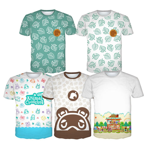 Animal Crossing Timmy Tommy Isabelle T-Shirts Cosplay Costumes - Cosplay Clans