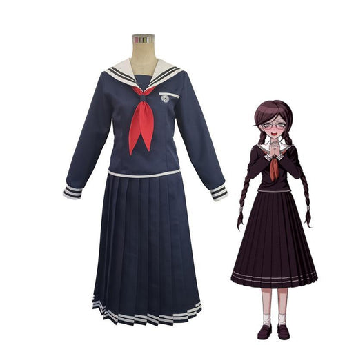 Anime Danganronpa: Trigger Happy Havoc Toko Fukawa Uniform Cosplay Costumes - Cosplay Clans