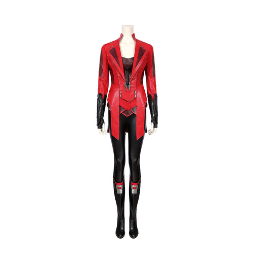 Movie Captain America Civil War Wanda Maximoff Cosplay Costume - Cosplay Clans