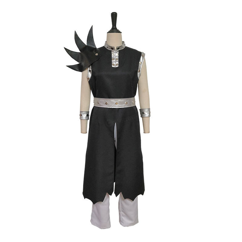 Anime Fairy Tail Gajeel Redfox Cosplay Costume - Cosplay Clans