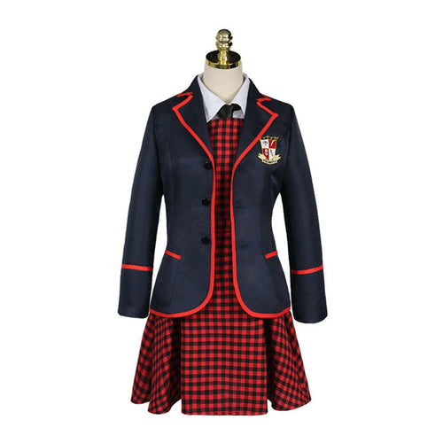 TV The Umbrella Academy Female JK School Uniform Cosplay Costumes - Cosplay Clans