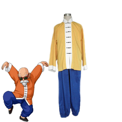 Anime Dragon Ball Master Roshi Cosplay Costume - Cosplay Clans
