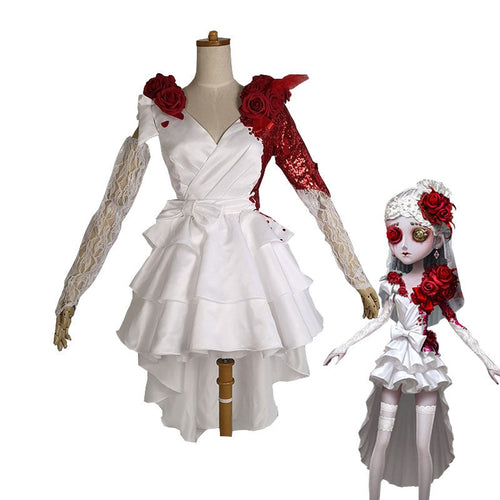 Game Identity V Perfumer Crimson Bride Vera Nair Cosplay Costume - Cosplay Clans