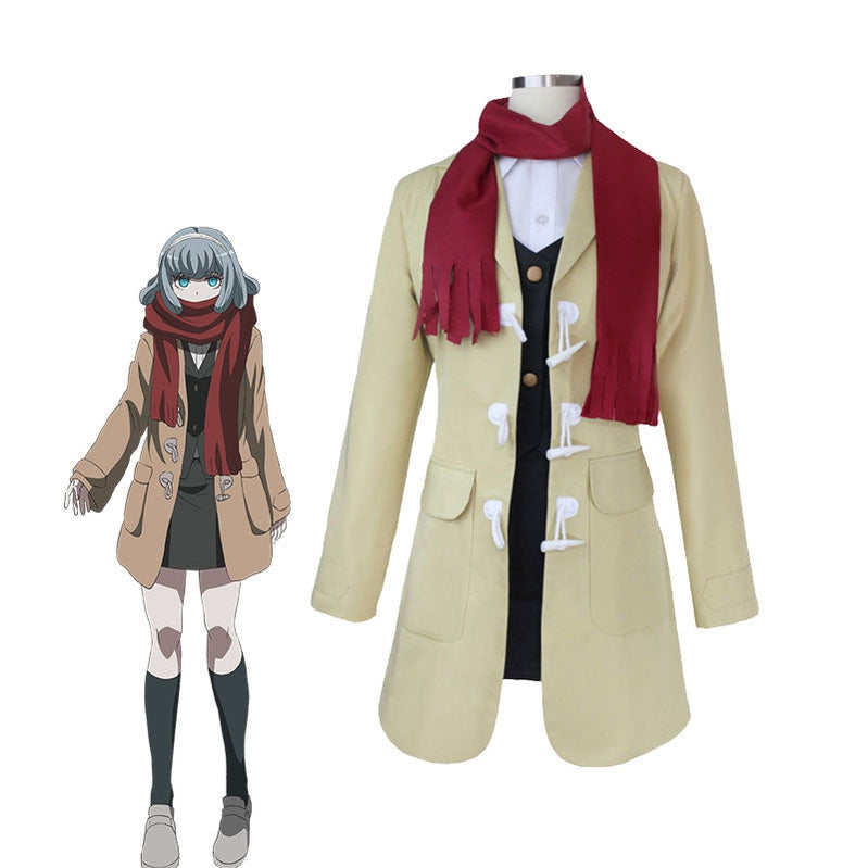 Danganronpa 3: The End of Hope's Peak High School Gekkougahara Miaya Full Set Cosplay Costumes - Cosplay Clans