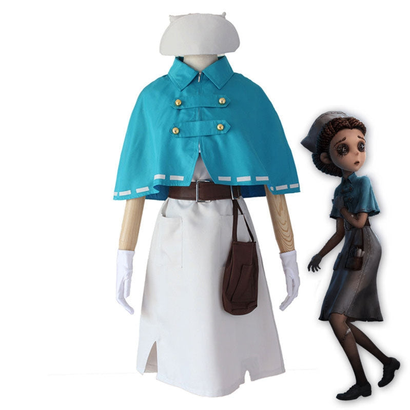 Game Identity V Doctors Emily Dale Cosplay Costume - Cosplay Clans
